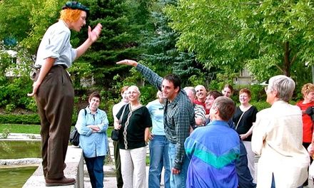 Walking Tour with Costumed Guide for Two, Four, or Six at Muddy Water Tours (50% Off)