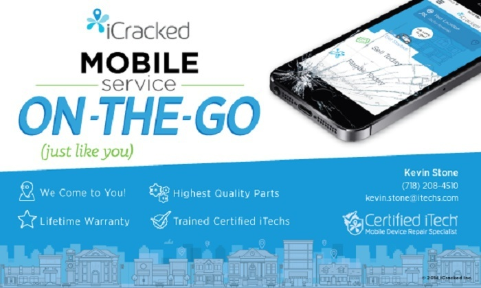Kevin Stone at iCracked- NYC - New York City: Up to 52% Off screen repair on iPhones or iPads from Kevin Stone at iCracked- NYC