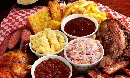 $10 for $20 Worth of Barbecue Dinner at Memphis Blues Barbeque House