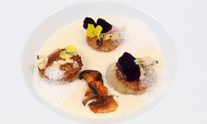 Fleur de sel: Smakelijk menu naar keuze met 3 gangen, bubbels en amuse voor 2 of 4 personen