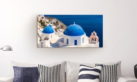 1 toile photo personnalisée, 6 formats paysage au choix sur Printerpix dès 5,99 € (jusqu'à 83% de réduction)