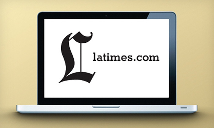 Los Angeles Times: $1 for a 12-Week All Digital Access Subscription to the Los Angeles Times (Up to $23.88 Value)