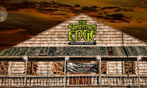 27% Off Admission to The Shadow's Edge Haunted House at The Shadow's Edge Haunted House, plus 6.0% Cash Back from Ebates.