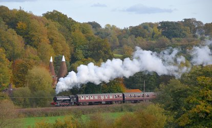 image for Spa Valley Railway: Return Ticket from Tunbridge Wells West to Groombridge or Eridge for Two or a Family (Up to 61% Off)