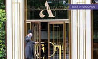 5* Spa Day With Treatments for two, Champagne and optional Afternoon Tea at The Athenaeum Hotel, Mayfair (Up to 52% Off)