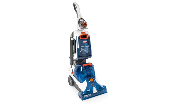 Up To 59 Off Vax Dual V Advance Carpet Cleaner Groupon