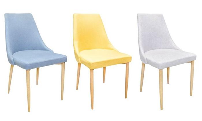 chaises scandinaves milan disponibles en 5 couleurs - Chaises Scandinaves Couleur