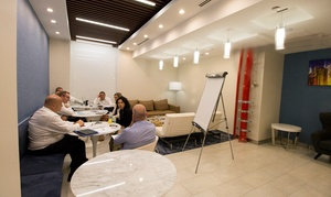 50% Off Shared Working Space Rental at Jay Suites, plus 9.0% Cash Back from Ebates.