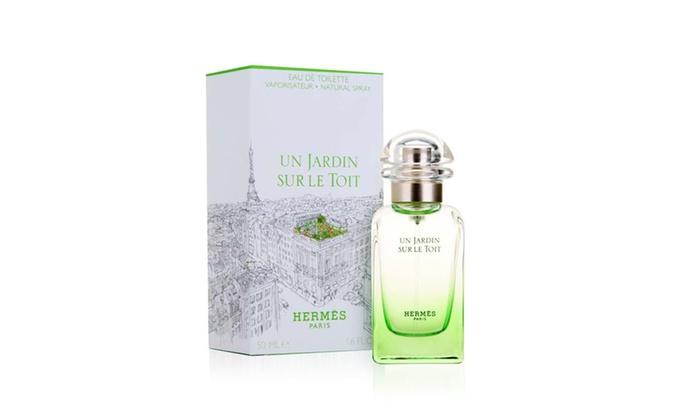 Herm s eau de toilette groupon goods for Parfum un jardin sur le toit