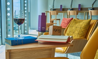 image for Airport Lounge Access with Security Fast Track for One or Two at 1903 Lounge: Manchester Terminal 3 (Up to 30% Off)