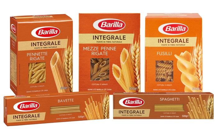 pasta integrale  Fino a 81% su Box 30kg Pasta Integrale Barilla | Groupon