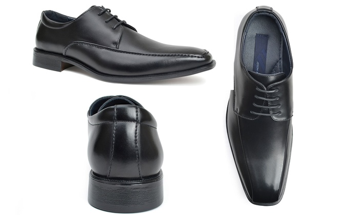 58d59b2763 Joseph Abboud Men's Leather Oxford Dress Shoes (Sizes 8 & 10) | Groupon