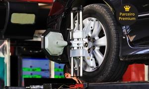 Auto Escape - St.Oeste: Auto Escape – Setor Oeste: alinhamento computadorizado, balanceamento, rodízio e mais (opção com óleo, A/C e mais)