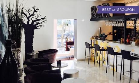 Menú para 2 o 4 con aperitivo, entrante, principal, postre y botella de vino o bebida desde 44,95 € en ComerDcine