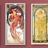 The Many Muses of Alphonse Mucha Giclee or Canvas Print