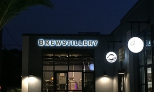 Up to 57% Off Distillery Tour and Tasting at The Brewstillery and Bear and Peacock Taproom, plus 6.0% Cash Back from Ebates.