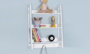 Kids' Ladder Wall Shelf