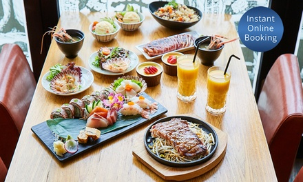 EightCourse Dégustation with Sake for Two $89 or Four People $175 at Kanji Japanese Restaurant Up to $411 Value