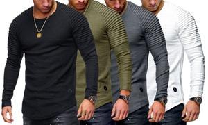 T-Shirts texturé Samuel
