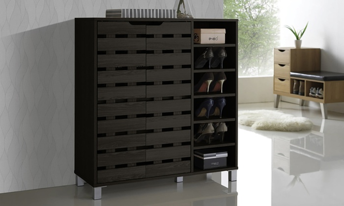 Up To 45 Off On Shirley 2 Door Shoe Cabinet Groupon Goods