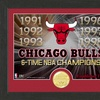 NBA Champions Framed Logo and Coin