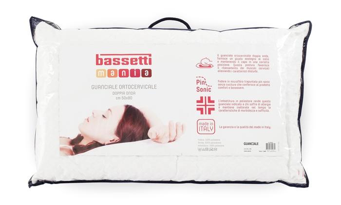 Cuscini Bassetti.Guanciali In Memory Bassetti Groupon Goods