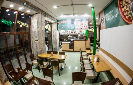 Menú para dos o cuatro con pizza XL y bebida en Pizzería Desi (hasta 53% de descuento)