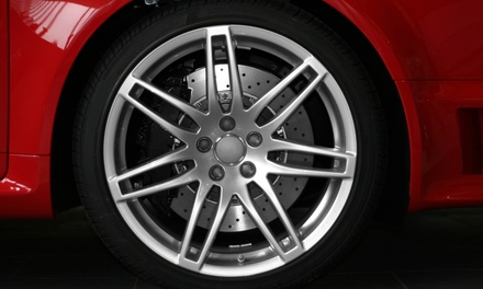 Alloy Wheel Refurbishment for One or Two Wheels at Loughborough Refurbs