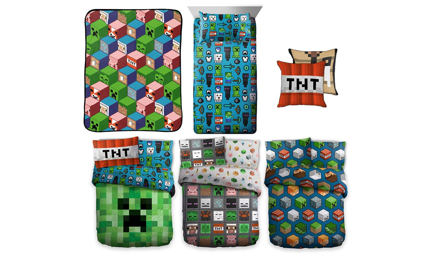 Minecraft Bedroom Collection for £10.99