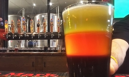 Brewery Tour, Beer Flights, and Souvenir Growlers for Two or Four at Ocean City Brewing Company (Up to 51% Off)