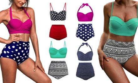 Bikini con braguitas de cintura alta Viktoria