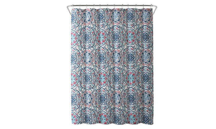 Up To 32 Off On Leila Medallion Shower Curtain