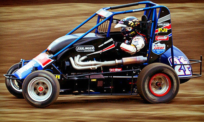 Cory Kruseman's Sprint Car and Midget Driving School - Ventura County Fairgrounds: 15 or 25 Laps of Sprint-Car or Midget Driving at Cory Kruseman's Sprint Car and Midget Driving School (Half Off)
