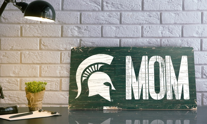 NCAA 12″x16″ Mom Sign