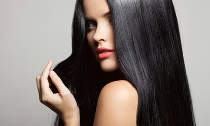 image for Brazilian Keratin Treatment with Wash and Cut at Tangled Hair Salon (67% Off)