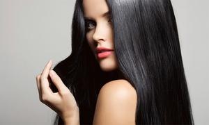 Tangled Hair Salon: Brazilian Keratin Treatment with Wash and Cut at Tangled Hair Salon (67% Off)
