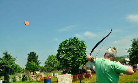 90Minute Aerial Archery Experience for One or Two at Battle Archery Ltd