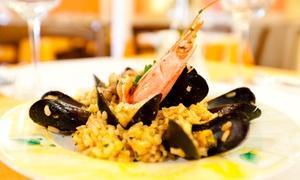 Trattoria Sicilian Corner: Uczta włoska: 69,99 zł za groupon wart 100 zł na pozycje z menu w Trattoria Sicilian Corner i więcej opcji (do -35%)