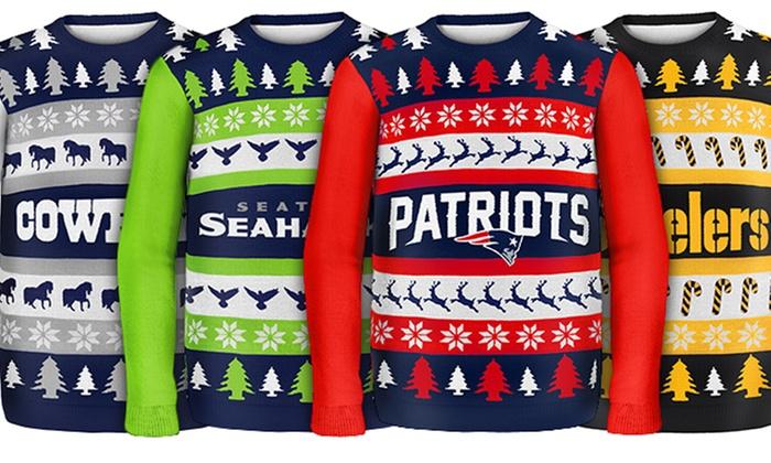 Dallas Cowboys NFL Ugly Sweater Big Logo Strick Hoody