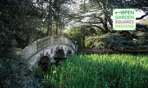 London Parks & Gardens Trust: Open Garden Squares Weekend, 9 - 10 June, Various Locations (Up to 50% Off)