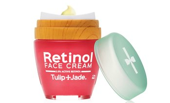 Tulip and Jade Retinol 2.5% Active Anti-Aging Organic Face Cream