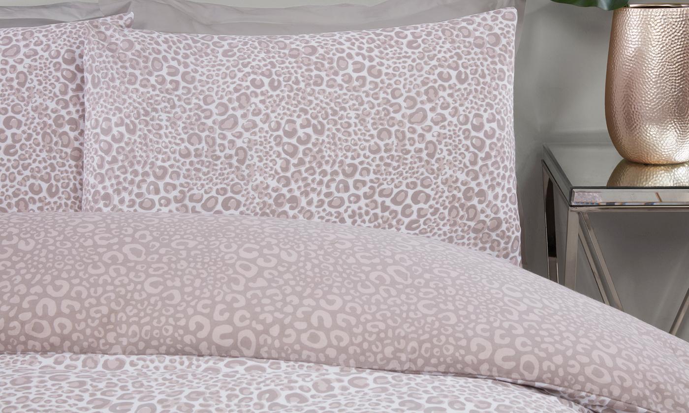 Pieridae Leopard Print Duvet Set