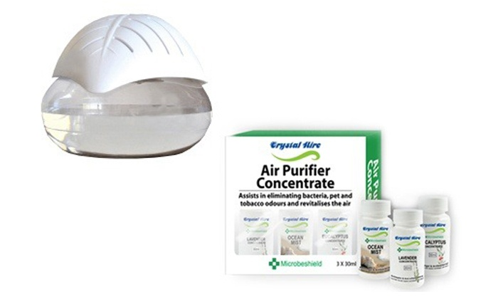 Groupon Goods: Crystal Aire Leaf Purifier with Ioniser from R599.99 Including Delivery (Up to 44% Off)