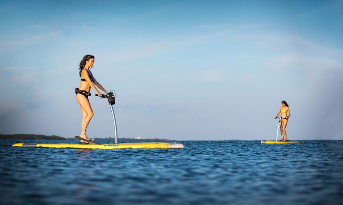 Groupon Paddleboard Miami Beach