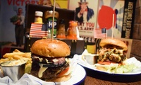 Burger, Fries and Cocktail Each for Two or Four at Propaganda (Up to 57% Off)