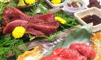 【30%OFF】2017年9月リニューアルオープン・馬肉料理を贅沢にランチで ≪足立屋自慢の馬づくし御膳+1ドリンク / 1名分~4名分...