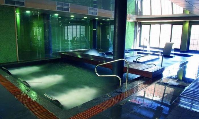 Circuito termal de 50 min para dos con opción a masaje y/o comida o cena desde 19,95 € en Spa Fontecruz Ávila