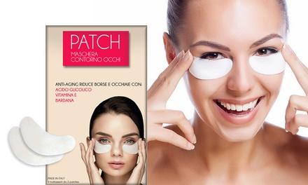1, 2 ou 3 pack de patchs contour des yeux anti-âge à la bave d'escargot