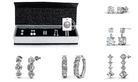$25 for a Five-Day Earrings Set with Crystals from Swarowski® (Don't Pay $124.69)