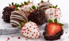 Shari's Berries: Gourmet Dipped Strawberries and Chocolate Treats from Shari's Berries (Half Off). Two Options Available.